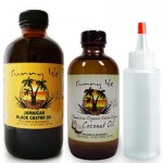 Jamaican Black Castor Oil 8oz. & Extra Virgin Organic Coconut Oil 4oz. & Applicator