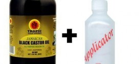 2. Tropic Isle Jamaican Black Castor Oil 8oz with an Applicator