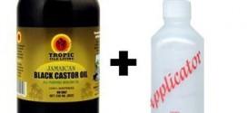 2. Tropic Isle Jamaican Black Castor Oil 8oz with an Applicator