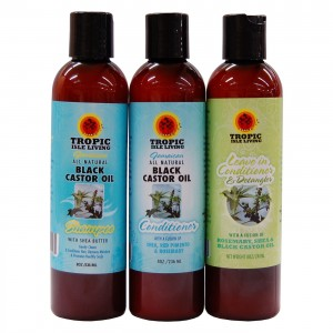Tropic Isle Living Jamaican Black Castor Oil Hair Care Combo Set-II